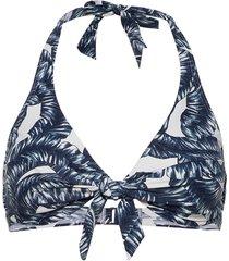 beach tops with wire bikinitop blå esprit bodywear women