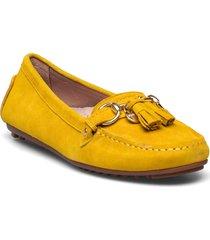 parma tassel loafers låga skor gul novita