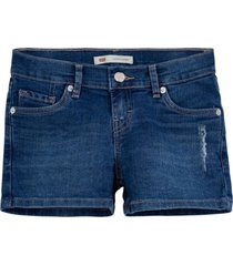 shorts levis infantil azul marinho