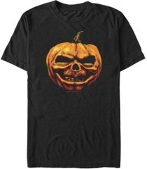 fifth sun goosebumps classic pumpkin head men's short sleeve t-shirt