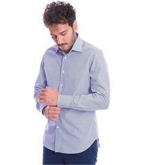 italian collar striped shirt