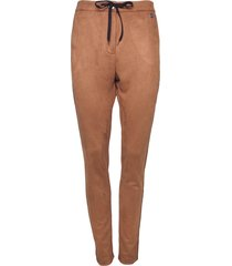 20 to 20to broek suede-look 11115 camel cognac