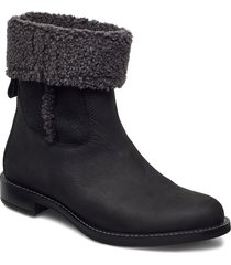 sartorelle 25 shoes boots ankle boots ankle boot - flat svart ecco
