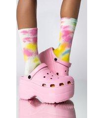 akira hot girl tie dye socks