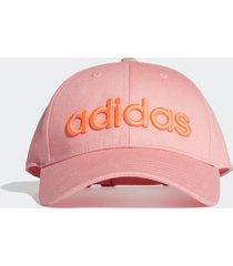 bone adidas baseball embrd rosa - rosa - dafiti