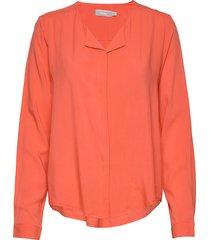 frhazavisk 1 shirt blus långärmad orange fransa