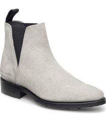 savannah low-703 shoes chelsea boots ankle boots ankle boot - flat grå primeboots