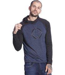 camiseta slim fit vlcs manga longa masculina