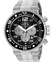 reloj invicta 25073 plateado acero inoxidable