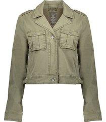 geisha jacket short with pockets l/s