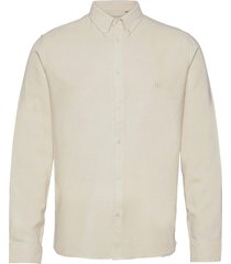 koda silk shirt overhemd casual crème les deux
