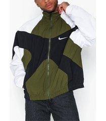 nike sportswear m nsw re-issue jkt wvn jackor grön