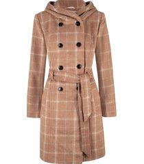 cappotto corto a quadri (marrone) - bpc bonprix collection