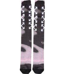 off-white long socks