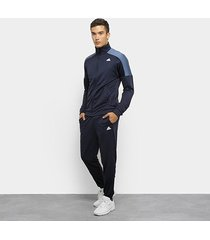 agasalho adidas badge of sport track suit masculino