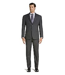 traveler collection regal fit check men's suit clearance by jos. a. bank