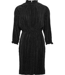 agneta 3/4 dress kort klänning svart moss copenhagen