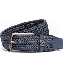 ermenegildo zegna pelletessuta™ woven belt - blue