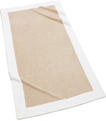 kassatex capri bath towel, size one size - beige