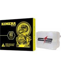kimera + porta cápsulas - 60 comprimidos