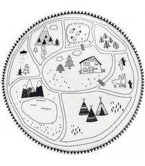 dywan okrągły góry