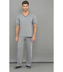 pijama lupo calça longa masculino
