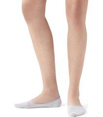 calzedonia glitter invisible socks woman white size 40-41