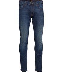 luke slimmade jeans blå lee jeans