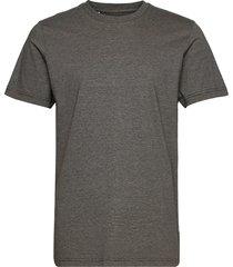 slhnorman180 mini stripe ss tee w t-shirts short-sleeved grå selected homme