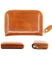 rfid portafoglio porta carte di credito in vera pelle olio per carte di credito