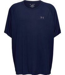 ua tech 2.0 ss tee t-shirts short-sleeved blå under armour