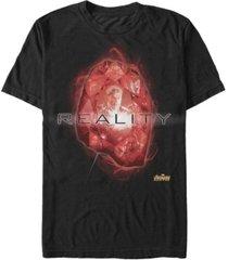 marvel men's avengers infinity war the reality stone short sleeve t-shirt