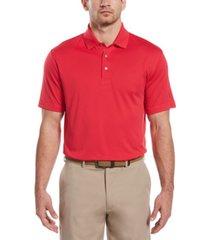 pga tour men's big & tall airflux solid mesh polo shirt
