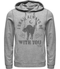 fifth sun hocus pocus spirit animal men's long sleeve fleece hooded sweatshirt