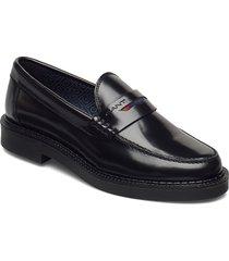 kennedi moccasin loafers låga skor svart gant