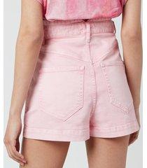 isabel marant women's diroysr shorts - light pink - fr 38/uk 10