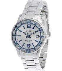 reloj casio ltp-1359d-7a-gris