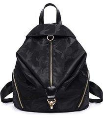mochilas/ diseño auriculares función mochilas moda-negro
