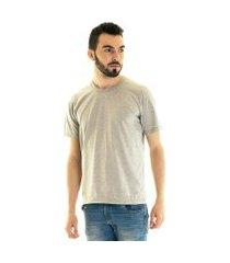 camiseta konciny manga curta básica 30502 cinza claro