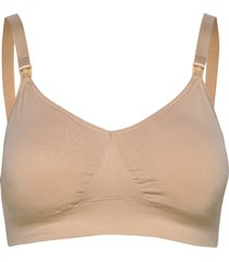 fast food t-shirt bra lingerie bras & tops maternity bras beige boob