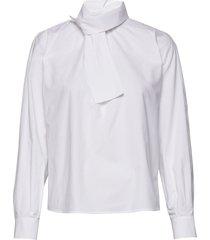 blouse long-sleeve blouse lange mouwen wit gerry weber edition