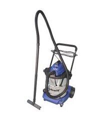 aspirador de pó e líquidos einhell bt-vc 1450 s 50lts cinza/azul