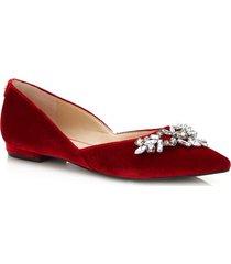 aksamitne baleriny shoein