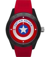 reloj capitán américa rojo umbro