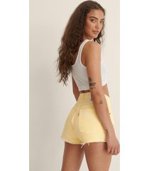 levi's 501-shorts - yellow