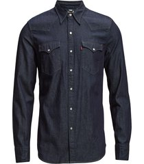 barstow western red cast rinse overhemd casual blauw levi´s men