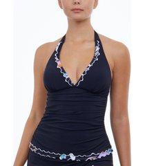 profile by gottex monaco halter tankini top, created for macy's women's swimsuit