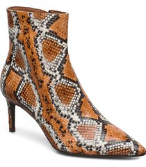 booties shoes boots ankle boots ankle boot - heel multi/mönstrad billi bi