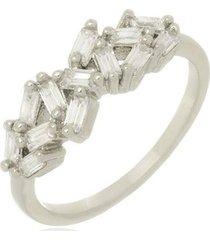 anel canutilhos cristais di capri semi jóias x ouro branco incolor
