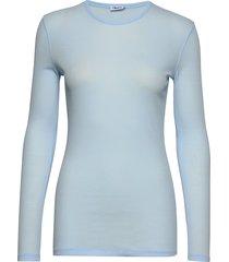 eloise top t-shirts & tops long-sleeved blauw filippa k